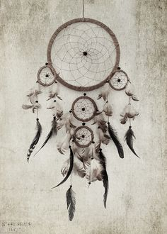 dreamcatcher - hang over bed to filter out the bad dreams 0ccfd9af8ad6