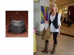 "Alessia Marcuzzi ""Borbonese Bag in OP"""