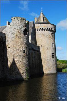 Château de Suscinio. Bretagne