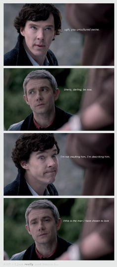 this is way too funny not to post! <3 Johnlock