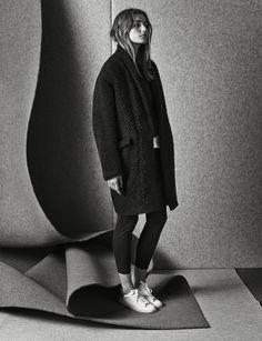 Andreea Diaconu x Isabel Marant F/W 2014