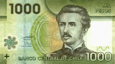 Polymer Banknotes of Chile 1000 Pesos Chile, Native Indian, Decir No, World, Carrera, Stamps, Trees, War Of The Pacific, Coins