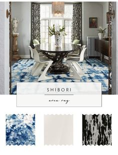 Shibori home decor