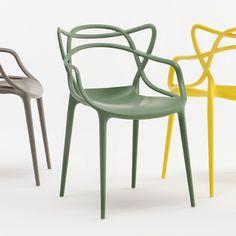 Masters Chair, Green - Philippe Starck & Eugeni Quitllet - Kartell - RoyalDesign.com