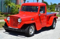 """""""Wally"""", a 1948 Willys Jeep Truck Willys Wagon, Jeep Willys, Jeep Jeep, Jeep Wrangler, Jeep Pickup Truck, Dodge Trucks, Old Trucks, Willis Pickup, Rescue Vehicles"""