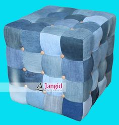 innovative used jeans ottoman supplier india #denim #jeans #fabric #restoration #pouf #ottoman #upholstered #indian #furniture http://www.jangidart.trustpass.alibaba.com/product/50016865347-230432914/innovative_used_jeans_ottoman_supplier_india.html Please contact us for more products and design at below:- Email: - info@jangidart.com Whatsapp: - +91-8561051688