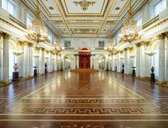 #Ermitage  a San Pietroburgo - Sala Grande del Trono