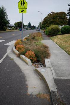 Traffic Calming Curb extension