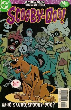 SCOOBY DOO Comic Book # 74 CLASSIC MONSTERS COVER ~DC Comics CARTOON NETWORK   | eBay