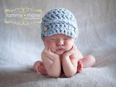 Classic Newsboy Cap New Crochet PATTERN ONLY True by all3suns, $3.99