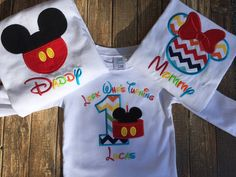Chicos primer cumpleaños mickey mouse por LittleChickiesClips