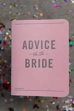 Pink Advice for the Bride Notebook | Carla Ten Eyck Photography https://www.theknot.com/marketplace/carla-ten-eyck-photography-hartford-ct-312151 | Whim Events And Floral Design https://www.theknot.com/marketplace/whim-events-and-floral-design-somerville-ma-430597