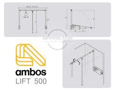 AMBOS LIFT500 ruhalift (60/83) - gardróblift