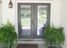 For the back door and garage doors  Back Door Makeover   Beneath My Heart