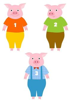 3 Little Pigs Activities, Toddler Learning Activities, Infant Activities, Literacy Skills, Early Literacy, Teach English To Kids, Flannel Board Stories, Pig Crafts, Pig Illustration
