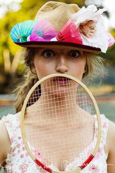 badminton birdies! photo: Stephanie Rausser