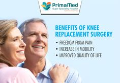 Knee replacement is a surgical procedure to replace the weight-bearing surfaces of the knee joint to relieve pain & disability. It is commonly performed on people suffering from osteoarthritis or progressive rheumatoid arthritis.