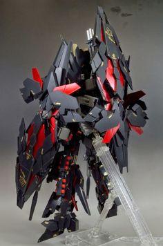 "Custom Build: MG 1/100 Banshee ""Heavy Weapon"" - Gundam Kits Collection News and Reviews"