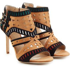 Tamara Mellon Suede Arizona Sandals