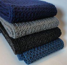 Men's Scarf By Suzanne Resaul - Free Crochet Pattern - (ravelry)