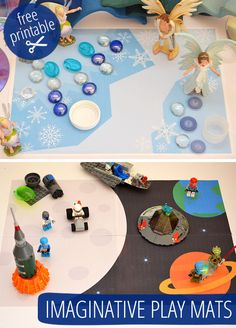 More Printable Imaginative Play Mats! picklebums.com