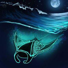 Beautiful Tala picture from Tumblr found via Google search Fish Illustration, Illustrations, Cute Disney, Disney Art, Moana Disney, Sea World, Marinha Wallpaper, Stingray Tattoo, Stingray Fish