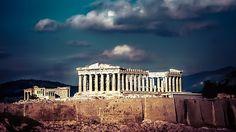 Parthenon of Acropoliw Athens Greece