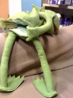 KERMIT THE FROG THEY LEFT SOMETHING PUT