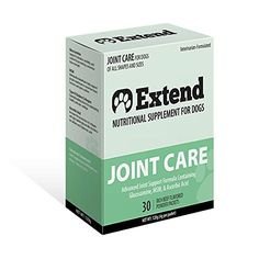 Extend  Joint Care For Dogs  1 Month Supply  Glucosamine for Dogs with MSM  Ascorbic Acid  Pure Grade Ingredients  100 -- More info could be found at the image url.