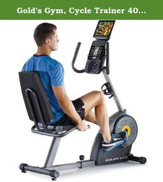 Gold's Gym, Cycle Trainer 400 Ri Exercise Bike with iFit Bluetooth Smart Technology. The new Gold's Gym Cycle Trainer 400 Ri Exercise Bike has all the favorite features of the Cycle Trainer 390 but now includes an integrated tablet holder and iFit Bluetooth Smart technology. Take an easier path to fitness by bringing your entertainment to your exercise. The Cycle Trainer 400 Ri features an integrated tablet holder that seats your device safely above the console so that you can your…