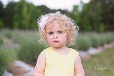 two year old girl fine art portrait