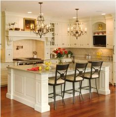 Benefits of Having a Great Kitchen Island. http://www.kmrenovate.com