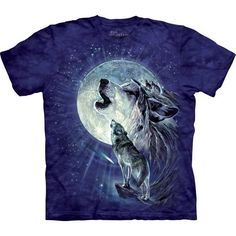 The Mountain Wolf T-shirt | Full Moon Gravity