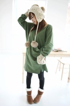Comfortable winter outfit