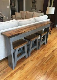 Furniture Projects, Home Projects, Furniture Design, Pallet Projects, Outdoor Projects, Chair Design, Craft Projects, Home Living Room, Small Couches Living Room