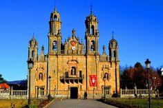 Santuario de los Milagros en Baños de Molgas #galicia #turismo #viajar