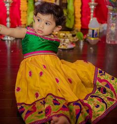Kids lehenga from yaksi Blue Lehenga, Kids Lehenga, Kids Girls, Cute Girls, Baby Kids, Designer Kids Clothes, Designer Dresses, Kids Ethnic Wear, Kids Wear