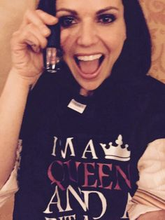 Lana Parrilla... the shirt is so fitting