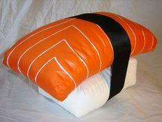 Original sushi pillow