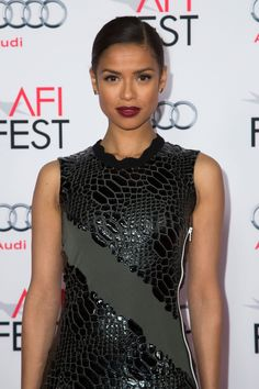 b53d115fd95 Use our Gold Lust Nourishing Hair Oil to create a sleek transitional  stylelike Gugu Mbatha-