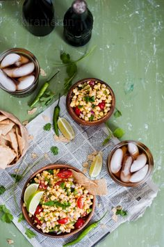 Fresh #Summer #Corn #Salsa | KiranTarun.com/Food