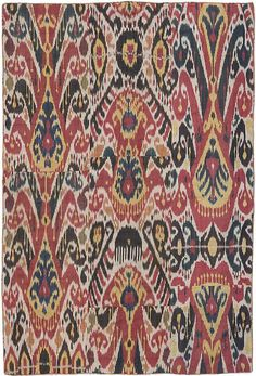 IKAT OF CENTRAL ASIA | circa 1870 uzbekistan ikat my all time favorites is ikat