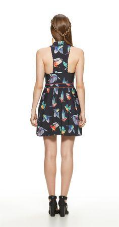 Só na Antix Store você encontra Vestido Pássaros Coloridos com exclusividade na internet