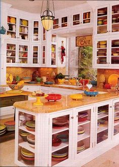 THIS is a Fiesta® collection. And a kitchen to hold it all.