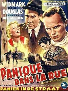 Official theatrical movie poster ( of for Panic in the Streets Directed by Elia Kazan. See Movie, Movie Tv, Barbara Bel Geddes, Jack Palance, Elia Kazan, A Wrinkle In Time, Film Base, Original Movie Posters, Hd Streaming