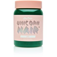Lime Crime Jello Unicorn Hair Dye ($18) ❤ liked on Polyvore featuring beauty products, haircare and hair color