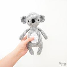 Sweet Koala Amigurumi Pattern