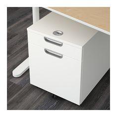 GALANT Drawer unit/drop file storage, white white 17 3/4x21 5/8