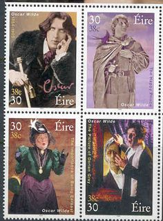 Oscar Wilde post stamps