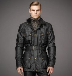 Jacket | Mens Signature Ten Ounce Waxed Cotton Classic Tourist Trophy Jacket | Belstaff